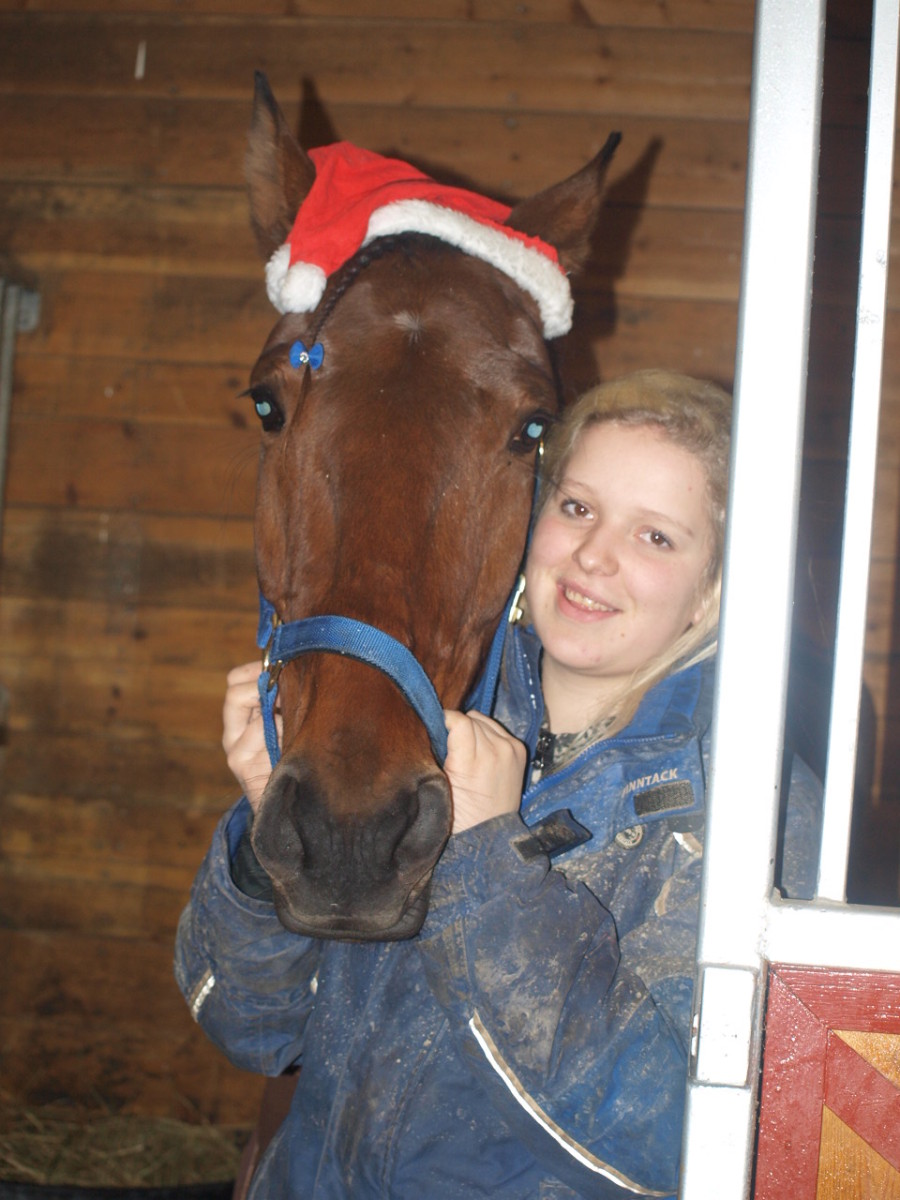 Zola Classic og Bente feirer jul