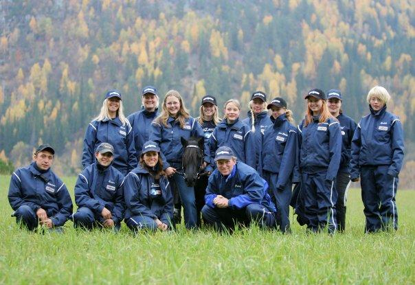 Sammen igjen! Reunion for Trond, Kristian, Stine og Line, her ser vi Team Buller'n anno 2004. Nå starter vi opp på nytt!